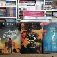Novel - ANAK RANTAU - RANAH 3 WARNA - RANTAU MUARA - A FUADI