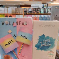 Novel WULANFADI 1 PAKET 2 BUKU - MATT & MOU - WITH JULIAN