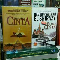 Novel HABIBURRAHMAN - AYAT AYAT CINTA 2 - BUMI CINTA - 2 BUKU