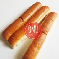 Roti hotdog john 30 cm isi 7 pcs