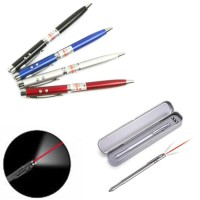 Pulpen 3 IN 1 ( Laser Pointer, Senter., pen )