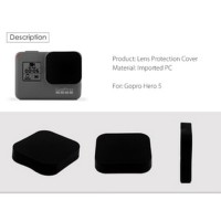 Lens & LCD Screen Protector with Lens Cap for GoPro Hero 5/6