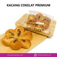 Roti Kacang Coklat PREMIUM | roti manis | kue | camilan| cokelat