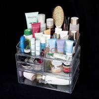 Acrylic Cosmetic Organizer Package 1 (Free Lipstick Organizer)