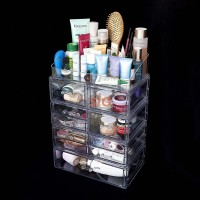 Acrylic Cosmetic Organizer Complete Package