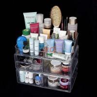 Acrylic Cosmetic Organizer Package 2 (Free Lipstick Organizer)