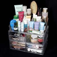 Acrylic Cosmetic Organizer Package 3 (Free Lipstick Organizer)