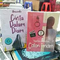 Novel 1 PAKET 2 Buku - ASSALAMUALAIKUM CALON IMAM - CINTA DALAM DIAM
