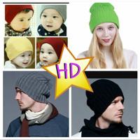 Topi rajut / topi kupluk beanie bayi n anak