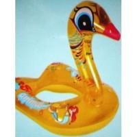 ban renang kepala angsa bebek leher panjang swan duck pelampung anak
