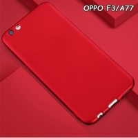 Softcase TPU Matte Slim Gloosy Slim Case Cover Casing HP Oppo F3 A77