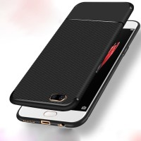 Softcase Carbon Fiber Ultra Thin Slim Cover Case Casing HP Oppo A71