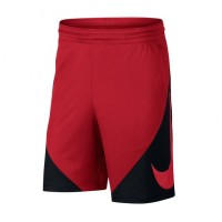 de8b91cfc2927 Celana Basket Nike HBR Basketball Short Black Red Original 910706-658
