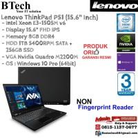 LENOVO ThinkPad P51 2ID Intel Xeon E3-1505Mv6/8GB/1TB + 256GB/Win10Pro