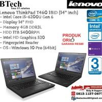 LENOVO ThinkPad T460 18ID Intel Core i5-6200U/4GB/1TB/Win10Pro