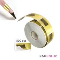 500 pcs nail form roll / nail extension