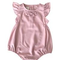 Mosfit Katelyn Dusty Pink Romper Baju Bayi Anak Perempuan
