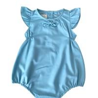 Mosfit Katelyn Blue Romper Baju Bayi Anak Perempuan