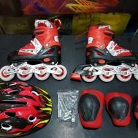 Jual sepatu roda anak fullset (body protecktor +helm)   inli Murah 28978a0262