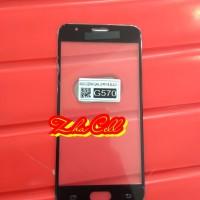 kaca depan kaca Lcd kaca touchscreen Samsung J5 prime G570 black