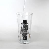 PROMO WWOOR Jam Tangan Bisnis Quartz Analog Ultra Tipis Anti Air,