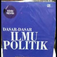 Buku DASAR DASAR ILMU POLITIK by prof mariam budiarjo