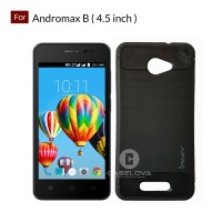 Case For Andromax B Softcase iPAKY Carbon