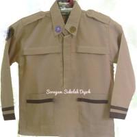 Baju Pramuka Siaga Lengan Panjang - Size 9-10