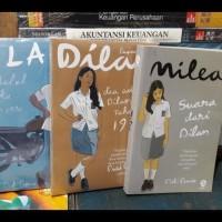 Paket Novel Dilan 1990,Dilan 1991,Dan Milea