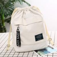 Ransel Kanvas Tas Sekolah Siswa Wanita Backpack Tas Les Anak