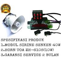 Harga paket klakson sirine senken horn speaker toa zh 610 | Pembandingharga.com