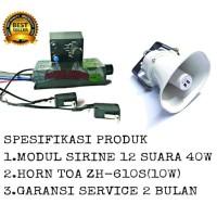 Harga paket modul sirine 12 suara 40 watt horn speaker toa zh | Pembandingharga.com