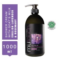 MuTouch Goat's Milk Shower Cream English Lavender and Rosemary 1000ml
