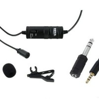 Boya By-M1 Clip On Mic Microphone Canon Nikon Sony Camera Kamera Hp
