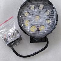 Harga lampu sorot 9 led worklight spot tembak kabut 27w motor | Hargalu.com