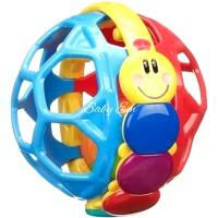 Baby Rattle Ball mainan Anak Teether Bola Berbunyi
