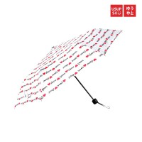 Usupso love tri fold umbrella / Payung