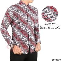 Harga batik baju etnik pria lengan panjang bat   antitipu.com