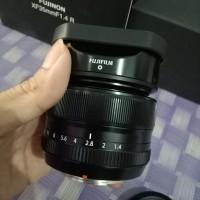 Lensa fuji xf 35mm f 1.4r garansi