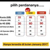Harga promo kartu perdana internet 3 tri three aon 33gb 3gb 30gb 4g | Pembandingharga.com
