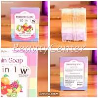 Harga gratis ongkir fruitamin soap 10in1 by wink white original thailand | antitipu.com