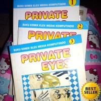 Komik bekas Private Eyes 1-3