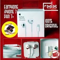 HEADSET HANDSFREE EARPODS IPHONE 7 7PLUS 8 PLUS IPHONE X ORIGINAL 100%