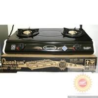 perlengkapan rumah tangga Quantum kompor gas 2 tungku QGC 201EMP