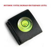 hotshoe cover waterpass level for canon nikon fuji sony