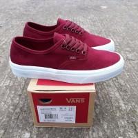 BGR 024 fashion pria sepatu Vans authentic mono port royale ukuran 37