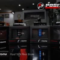Rizoma fluid tank for rear universal