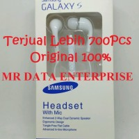 Headset Earphone Handsfree Vol Samsung S4 S5 Grand Note Original 100%