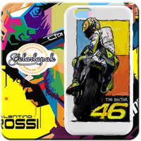 Casing Custom Rossi VR46 Iphone 7 7plus Samsung Galaxy S6 & ALL HP