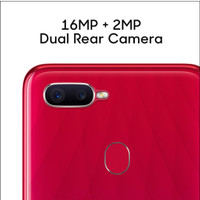 Hp Smartphone Oppo F9 Ram 4gb Rom 64gb Resmi indonesia - Blue / Red